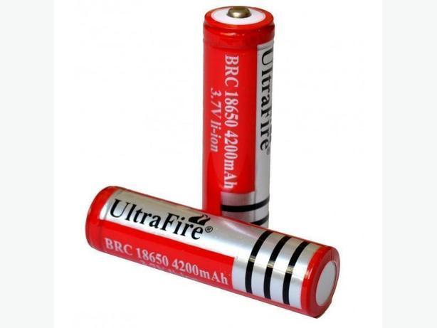 UltraFire 18650 4200mAh 3.7V Li-Ion Rechargeable Battery (2Pcs)