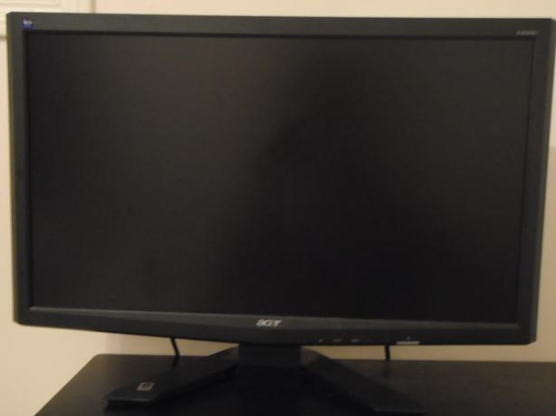 "23"" Acer X233H 1080p LCD Monitor like new"