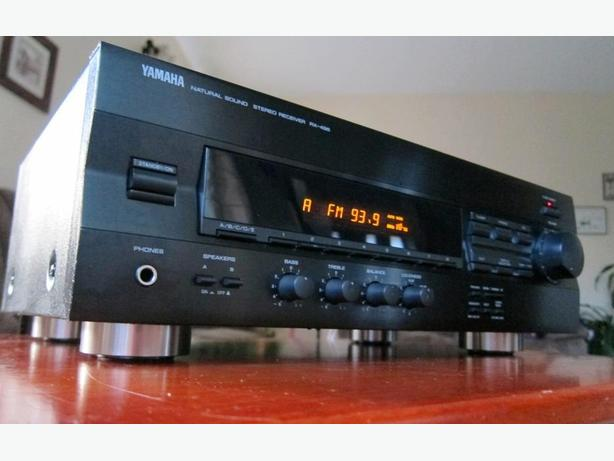 YAMAHA RX-496 STEREO RECEIVER *IMPRESSIVE ENGINEERING*
