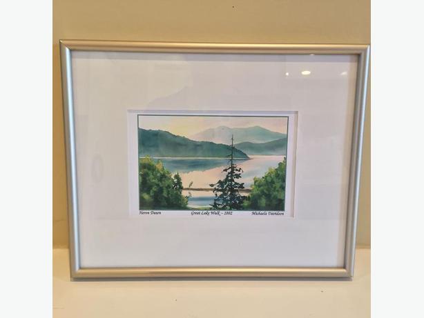 Framed Michaela Davidson Print