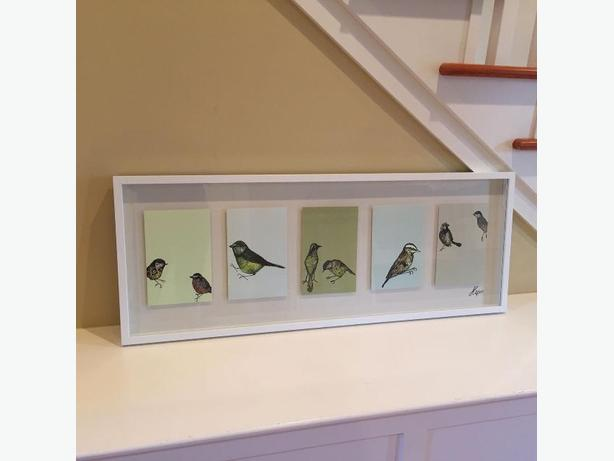 New Discontinued IKEA Olund 3D Framed Art