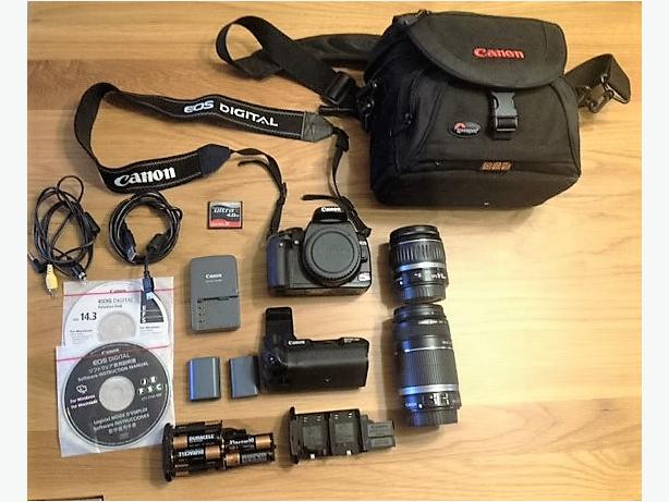Canon EOS Rebel XTi kit