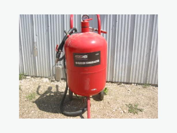 10 Gallon Sandblaster