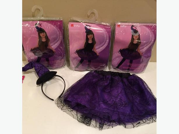 New Super Cute Little Witch Sets (3 available) - Size 4-7