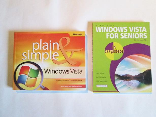 WINDOWS VISTA BOOKS / GUIDES