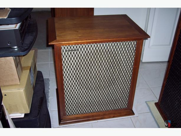 TANNOY LANCASTER CUSTOM MADE CABINETS (for 12's or 15's)