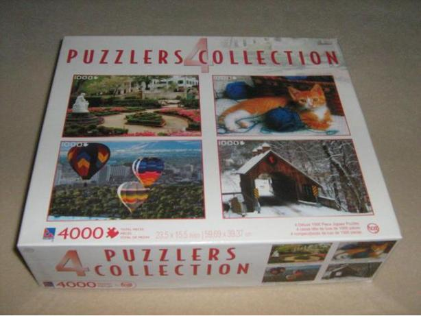 ASSORTED  PUZZLE  PACKS  (4 PUZZLES  EACH)