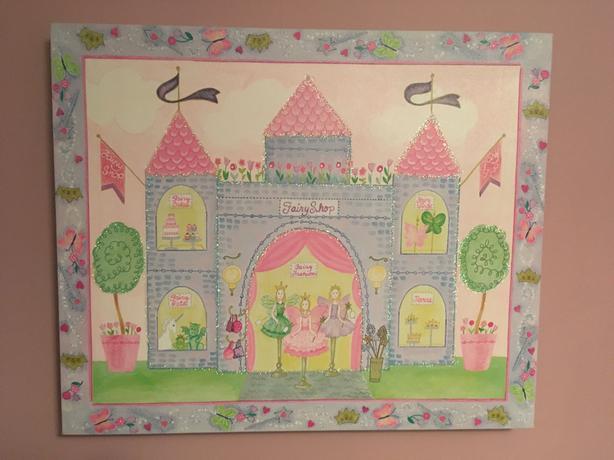 Girls Room Paintings - set