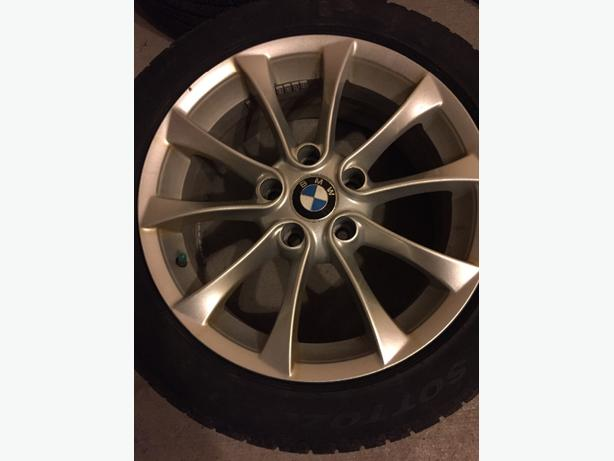winter tire set with rim for 2013 & up BMW 3 series.