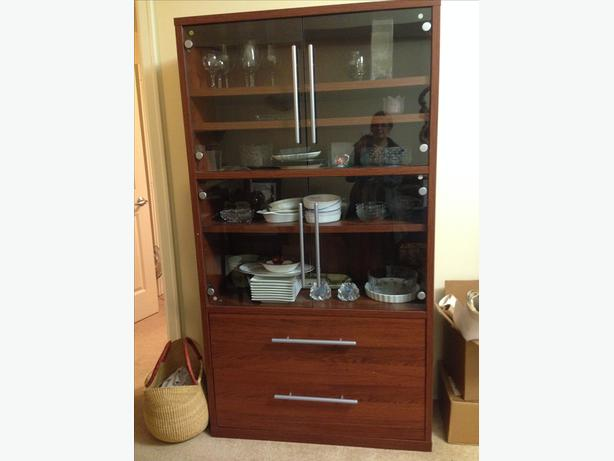 Ikea China cabinet/ wall unit