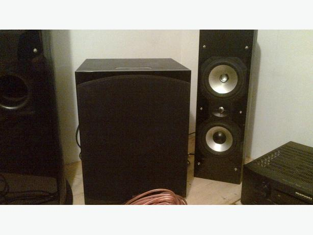 Marantz amp, sound stage speakers for sale