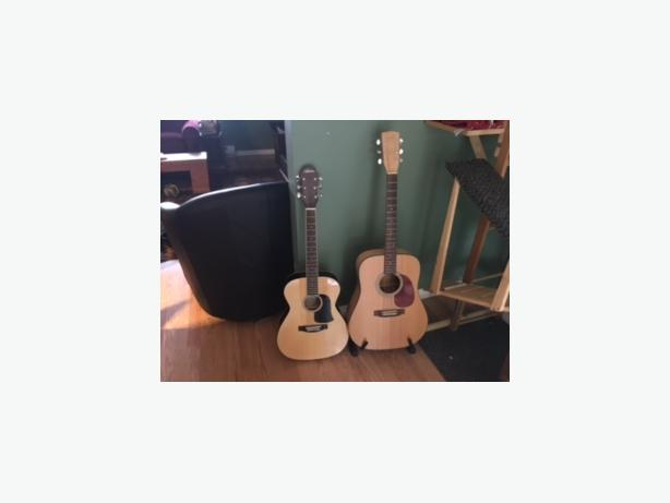 Acoustic 3/4 size Ariana guitar