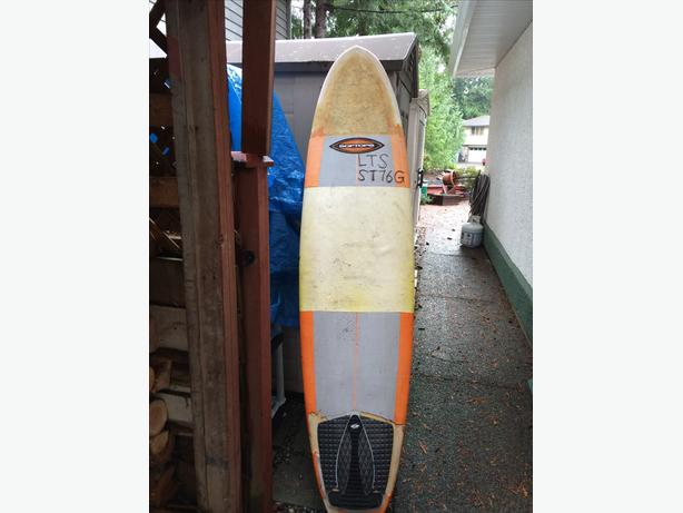 "Surfboard Soft Top 7'6"""