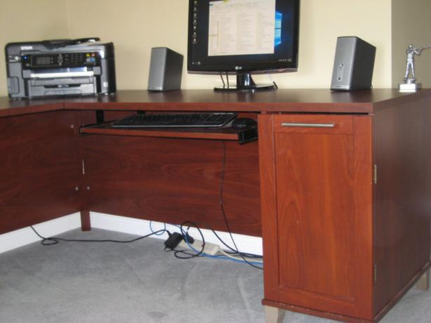 Large Professional Desk and File Cabinet - GREAT CONDITION
