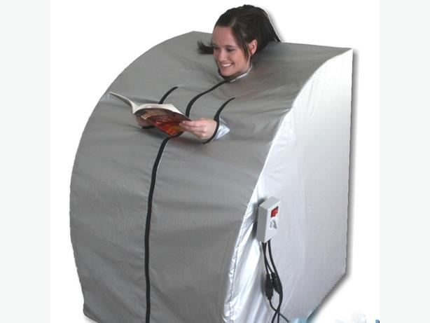 PORTABLE FAR INFRARED DRY HEAT DETOX SAUNA