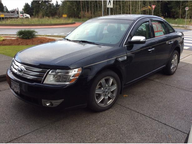 2008 FORD  Taurus Limited  4 door