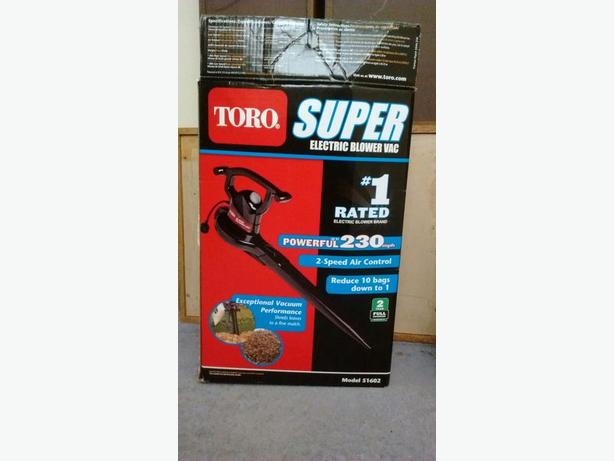 TORO Super Electric Blower Vac - Great Condition!