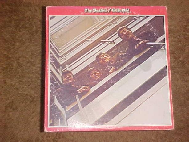 THE BEATLES 1962 1966 DOUBLE VINYL LP