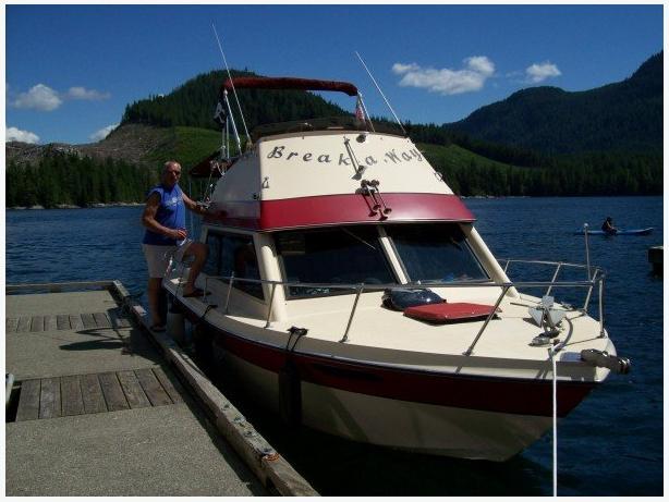 1981 26 ft Aquastar Pleasure Power Cruiser