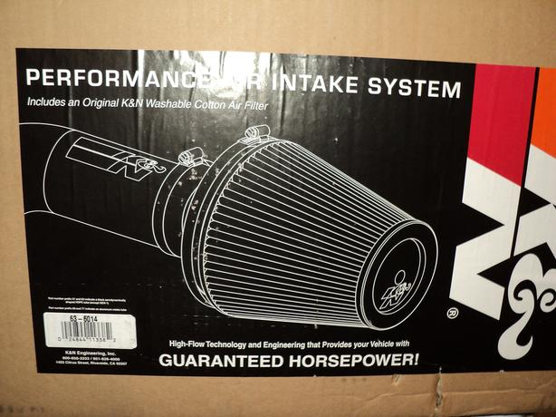 K&N #63-6014 Performance Air Intake System