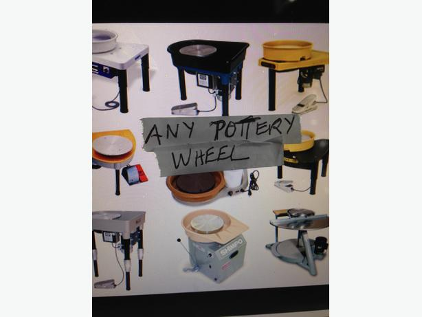 WANTED: Looking for Pottery Wheel Electric