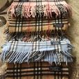 Burberry cashmere scarves