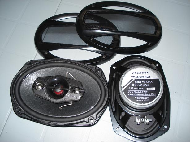 PIONEER FOUR WAY  SPEAKERS