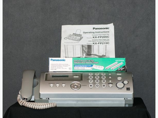 Panasonic Fax KX FP205C