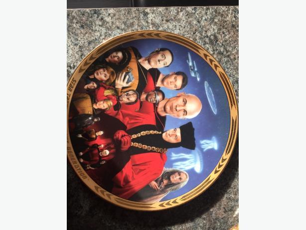 Star Trek Plate