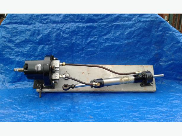 Wagner hydraulic steering pump and ram