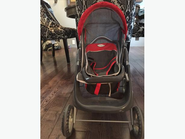 Baby doll Graco stroller