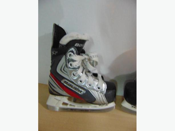 Hockey Skates Child s Shoe Size 7 Skate Size 6 Toddler Bauer Vapor ... dba3e369a840