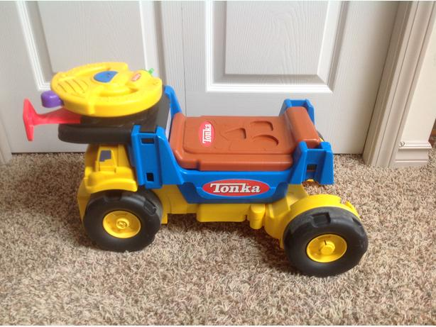 Tonka Scoot n' Scoop 3-in-1 Ride-on Truck