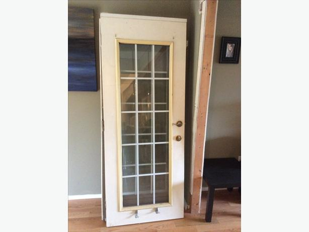 Exterior french doors frame west shore langford colwood for External double doors and frames