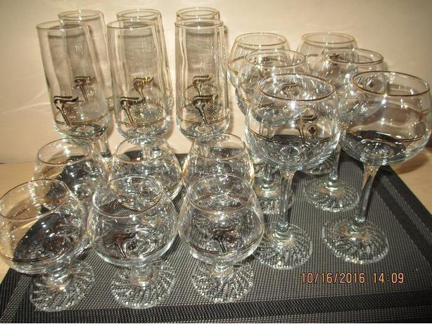Lot of 18 Olympic Glasses