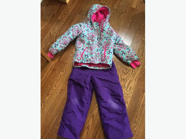 Girls Childrens Place winter coat and snow pants