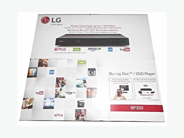LG -BP350 Smart 4 in 1 player