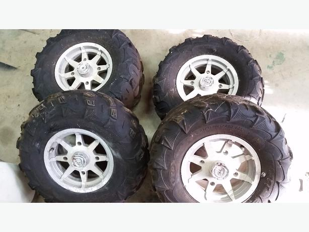 Rzr s 800 tires and rims