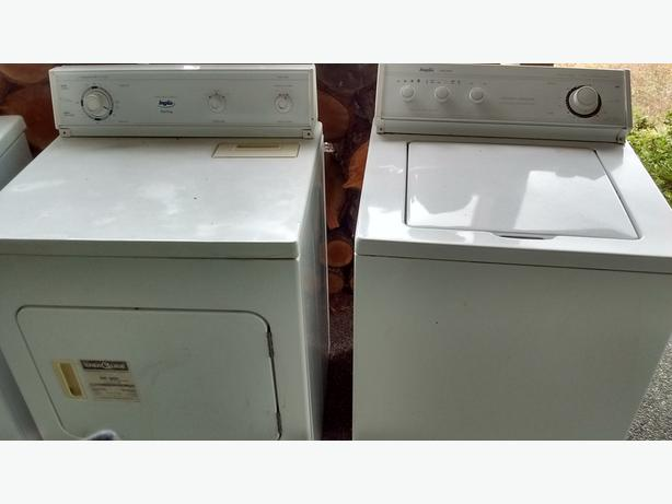 Inglis Heavy Duty Washer and Dryer