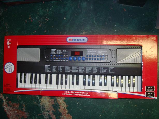 Brand New Music 54 Key Electric Keyboard - $30