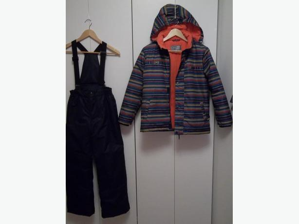 VIRAGE 2 PIECES SNOWSUIT FOR BOY SIZE 12