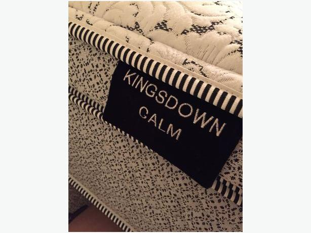 Kingsdown luxury KING size mattress - purchased for #1600