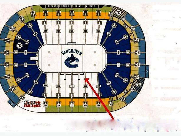 Premium Seats for Canucks games Nov and December