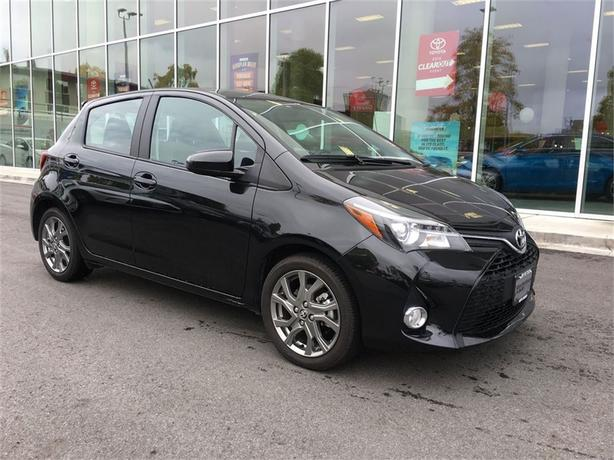 2015 Toyota Yaris SE NO ACCIDENTS LOCAL VICTORIA ONE OWNER
