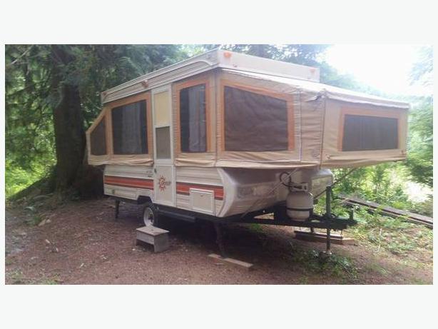 1987 Bonair BA1200 tent trailer