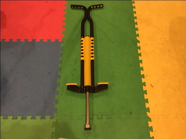 Yellow and black pogo stick ~ Barely Used