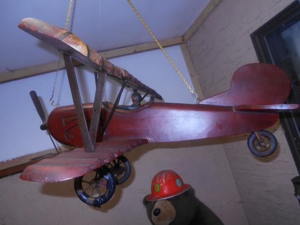 Antique Wooden Biplane