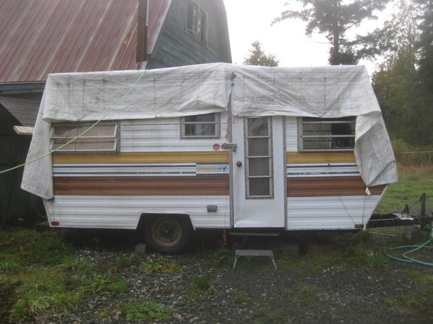 Shed On Wheels : Shed on wheels utility trailer flat deck chemainus cowichan
