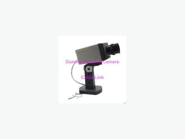 Dummy CCTV Home Scan Motion Security Camera