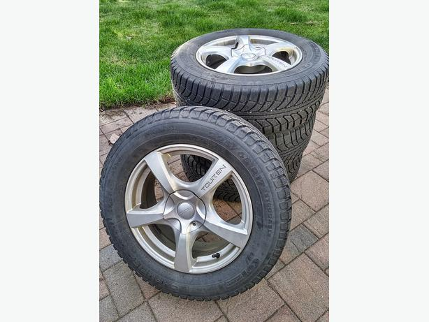Winter Tires with Rims - $650